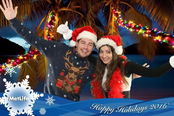 TapSnap Christmas Photo Booth