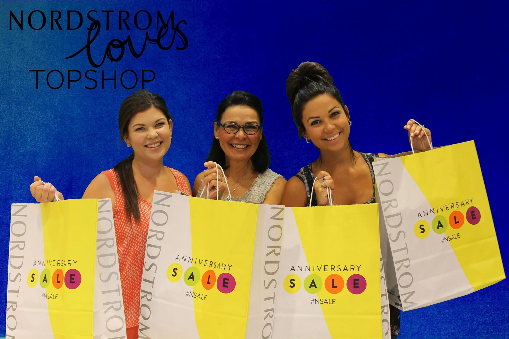 Nordstrom TopShop Photo Booth