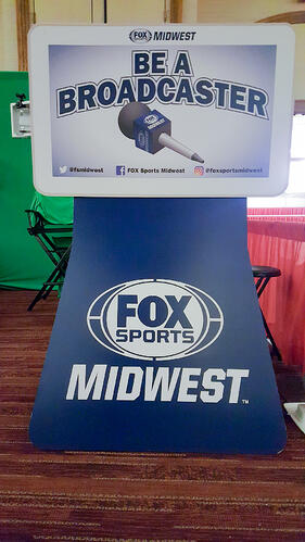FOX Sport Midwest photo booth