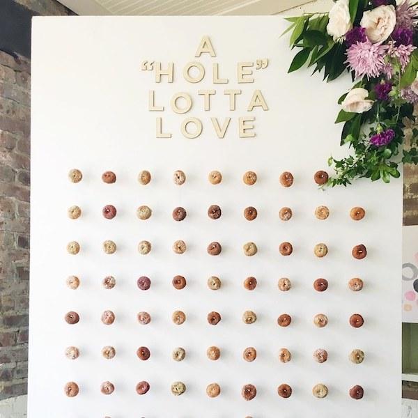 Doughnut Wall Brides.com
