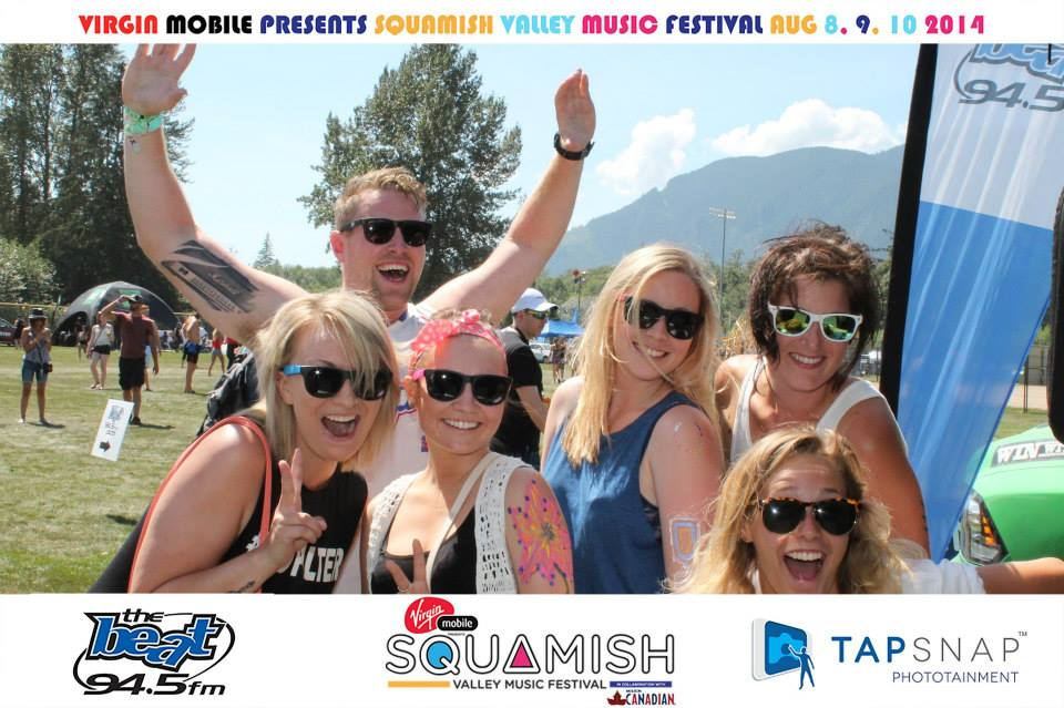 TapSnap at Squamish Festival