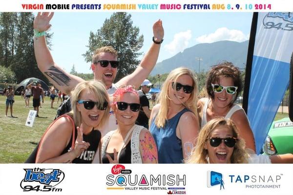 TapSnap at Squamish Festival