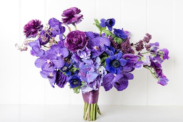 Ultra violet wedding