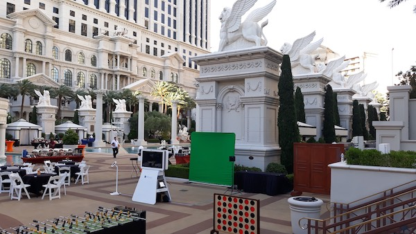 Vegas Event Setup
