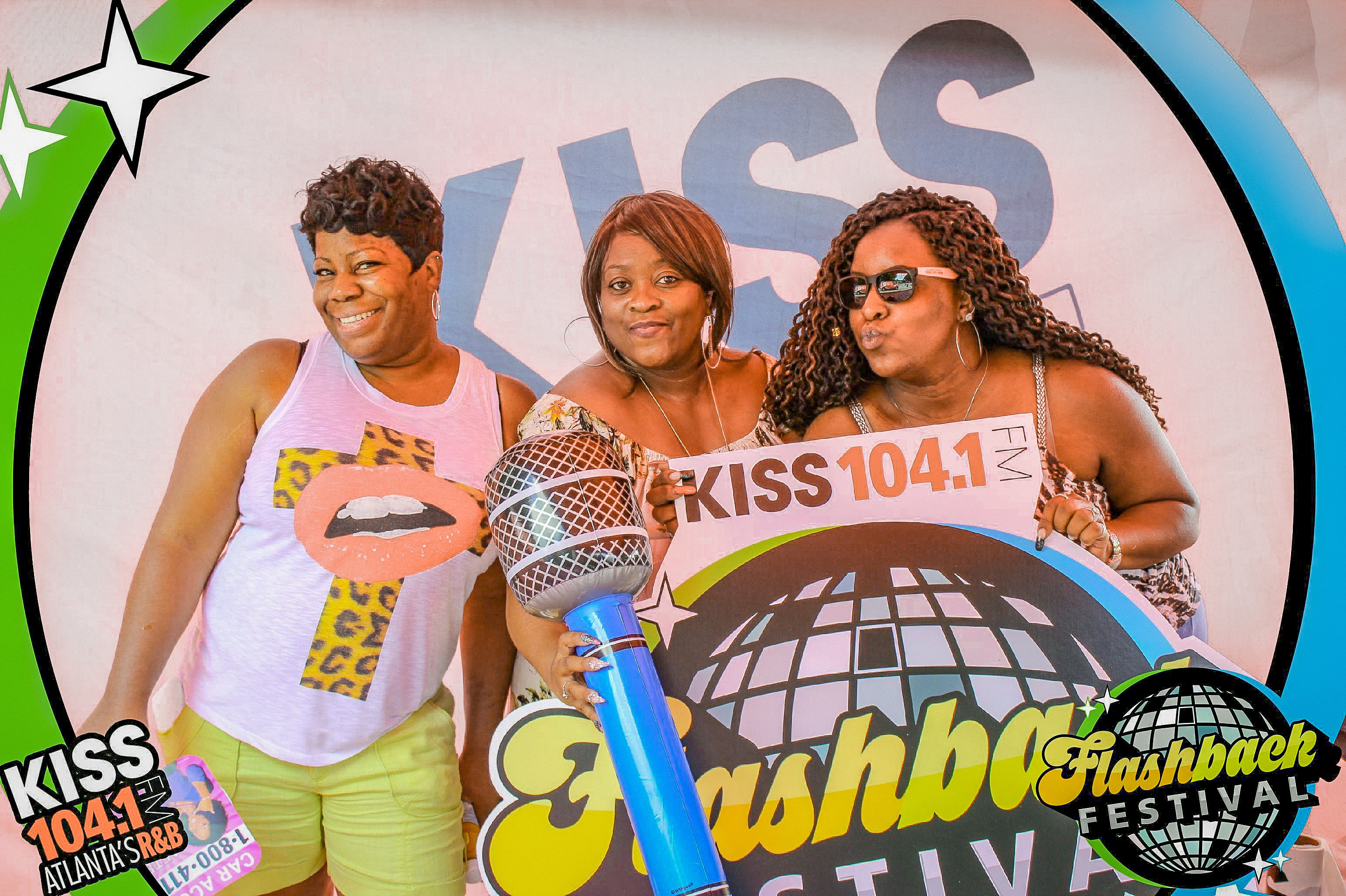 104.1 Radio at Flashback Festival