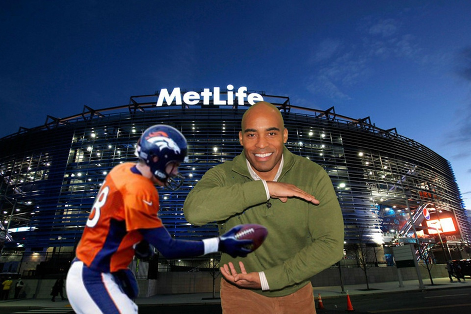 Tiki Barber using TapSnap