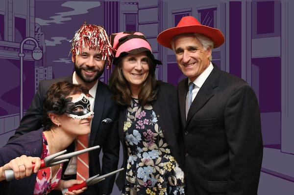 ultra violet wedding photo booth 2