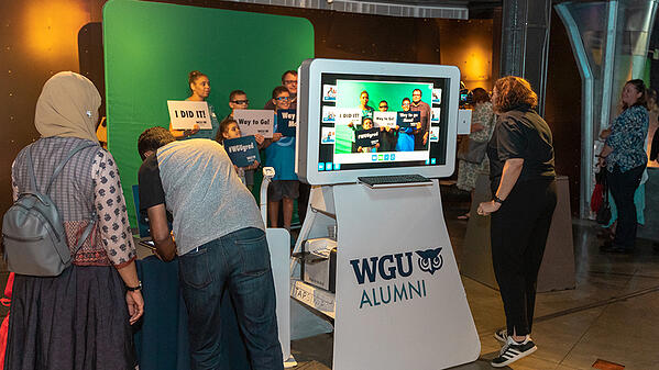 Success With A Grad Photo Booth For WGU
