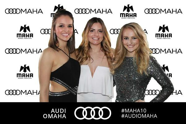 Audi Omaha photo booth activation
