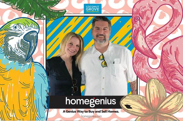 homegenius at Coconut Grove Art Festival