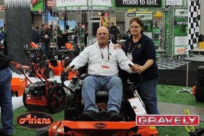 Ariens and Gravely at trade show