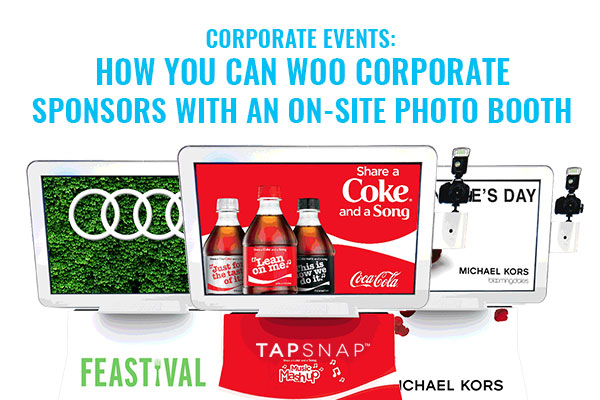 5 Ways You Can Woo Sponsors With An On-Site Photo Booth