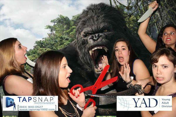 King Kong green screen photo booth rental