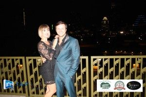 Another glamorous photo from the Midnight in Paris gala.