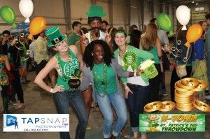 photo booth rental for st. patrick day