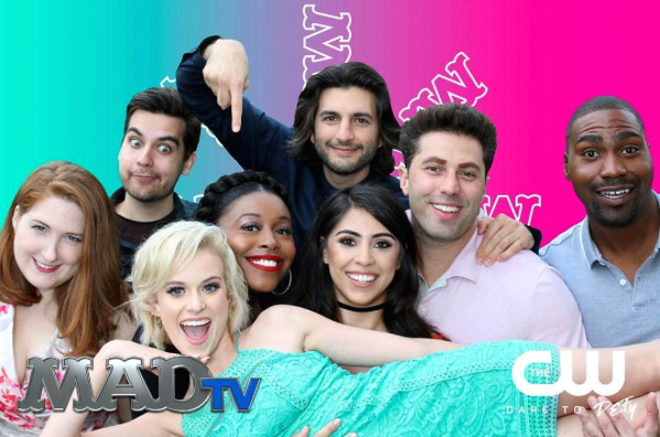photo booth at Mad TV