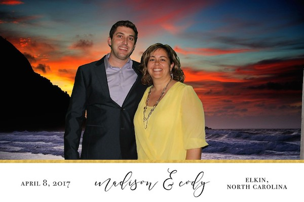 destination wedding photo booth