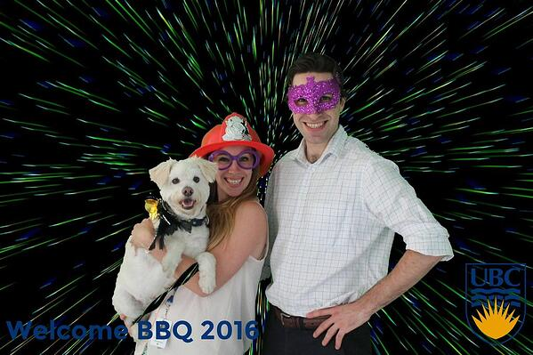 photo booth at UBC
