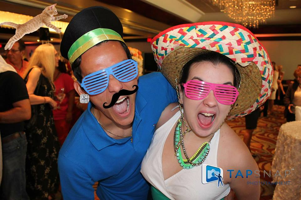 TapSnap photo booth rental in Mexico