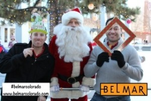 TapSnap franchisee Tyler Kidd (left) at the Belmar Shopping District