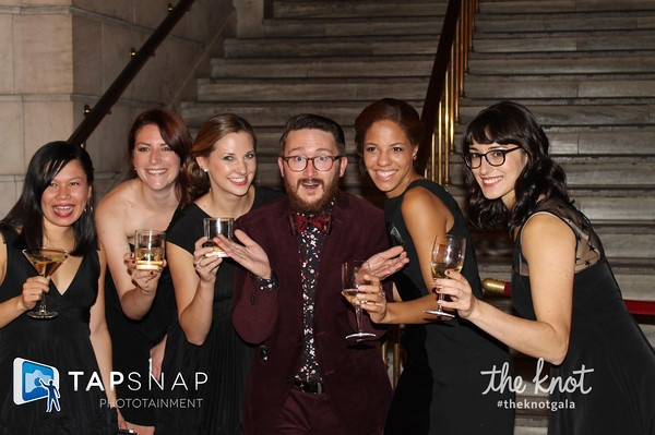 The knot gala- TapSnap Hits the Red Carpet at The Knot Gala in NYC