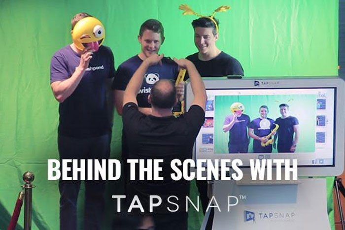 Take A Peek Behind The Scenes With TapSnap