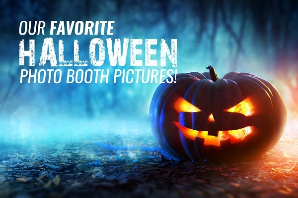 Our favorite Halloween photo booth pictures
