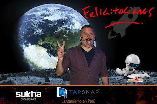 Mathias Brivio using TapSnap Peru