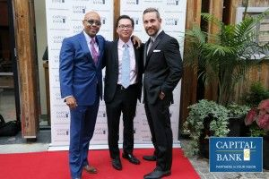 advantage of owing a franchise- Capital Bank's step and repeat