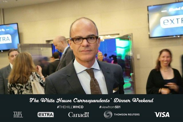 social media photo booth rental at white house corresponders' dinner pre-party