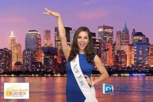 Miss New York at the Team Ronald Heros Event