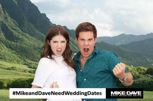 photo booth celebrities use- anna kendrick and adam devine