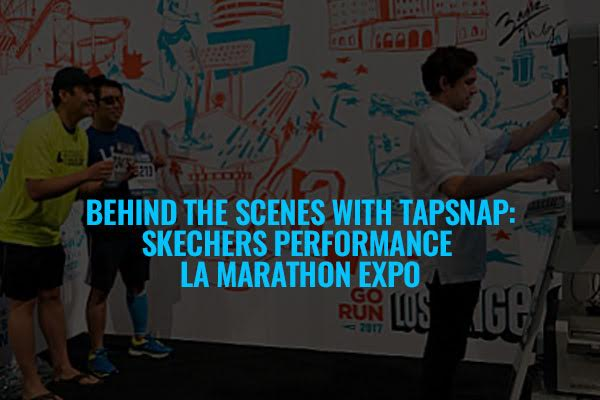 Behind the Scenes With TapSnap: Skechers Performance LA