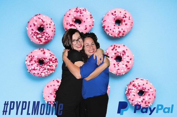 photo booth at paypal event