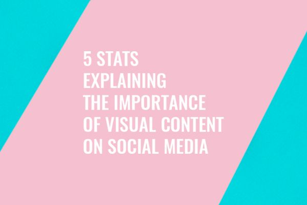 5 Stats Explaining the Importance of Visual Content on Social Media