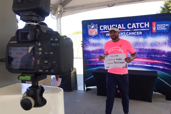 NFL Cancer Event