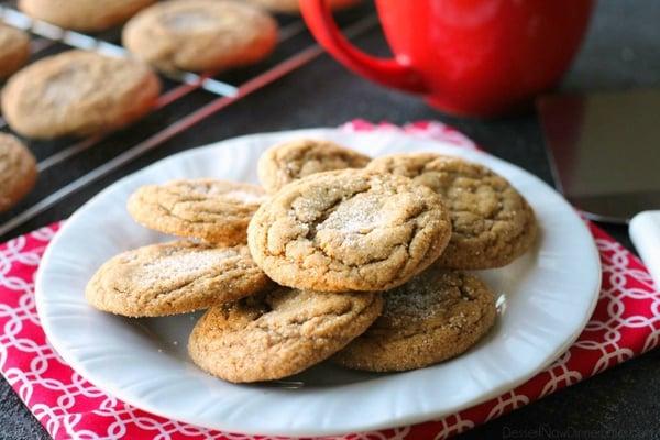 Gingersnap cookies christmas