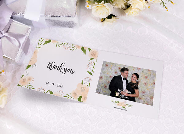 Wedding photo favor