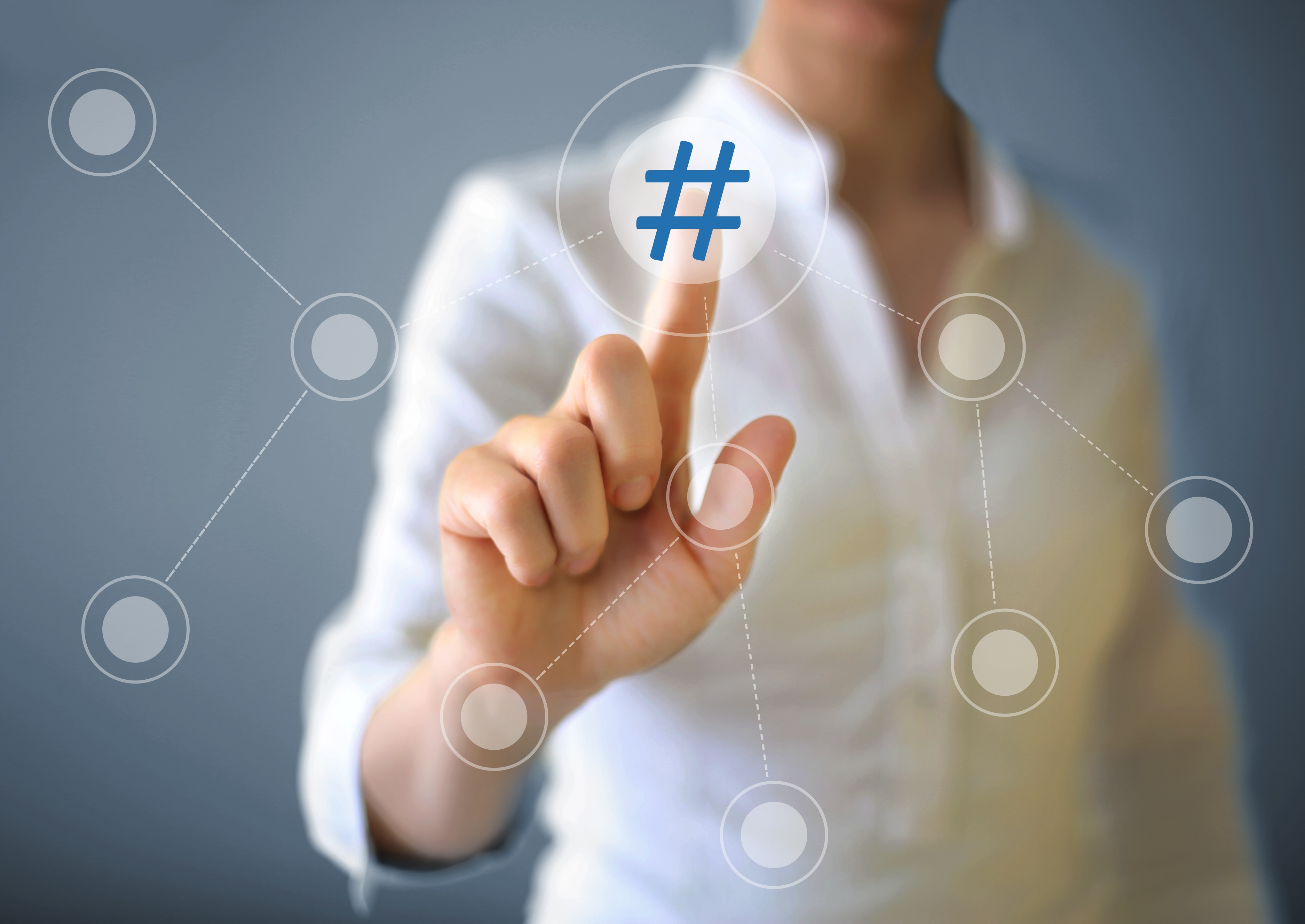 Hashtag your event