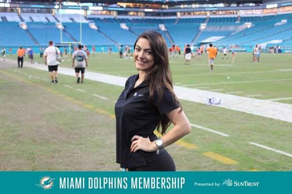 Miami Dolphins Family Day