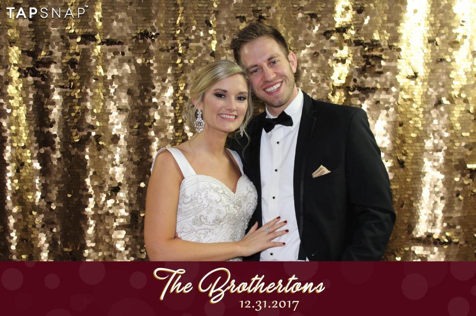 Sequin wedding backdrop