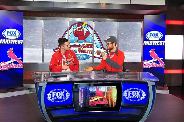 Fox Sports Midwest broadcast desk