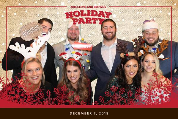 Cleveland Browns Holiday Party
