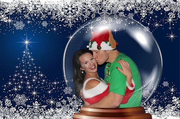 Bauble Holiday Photo Booth