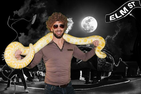 photo booth snake